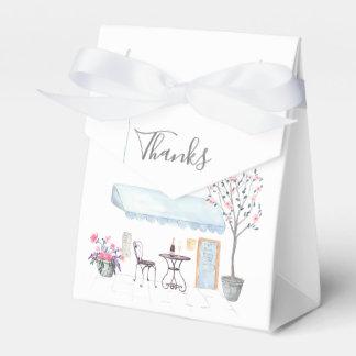 Paris Wedding Party Guest Favour Box
