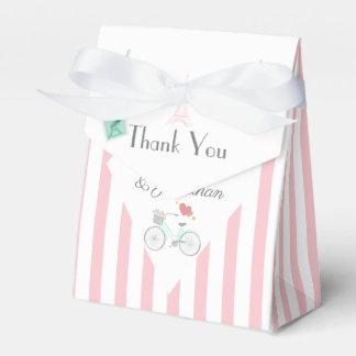 Paris Wedding Thank You Favour Box
