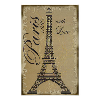 Paris, with Love Poster