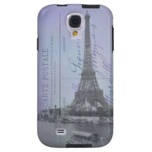 Paris World's Fair French Postcard Galaxy S4 Case