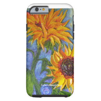 Paris' Yellow Sunflower iPhone 6 case