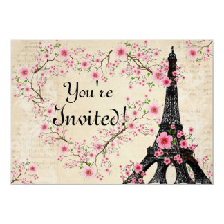 Parisain Invitation