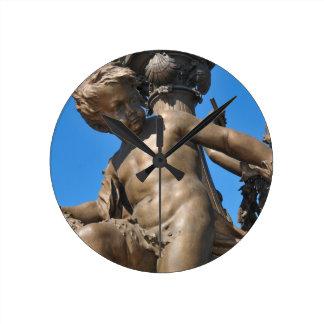 Parisian architecture clock