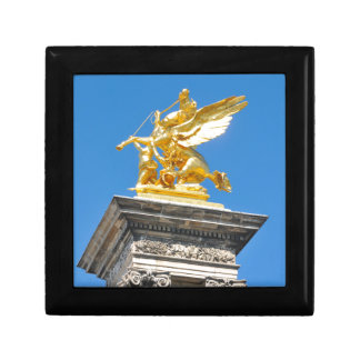 Parisian architecture small square gift box