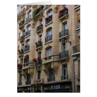 Parisian Balconies Card