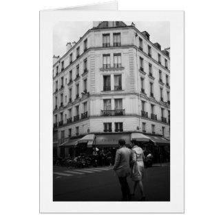 Parisian chic, Le Bistrot, Paris, France Card