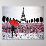 Parisian Girl Poster