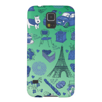 Parisian life cases for galaxy s5
