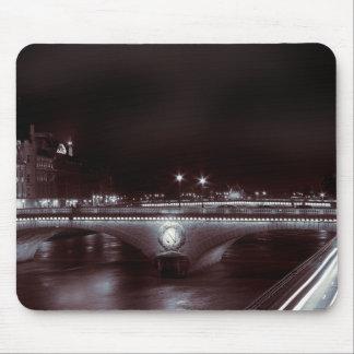 Parisian Night Trails Mouse Pad