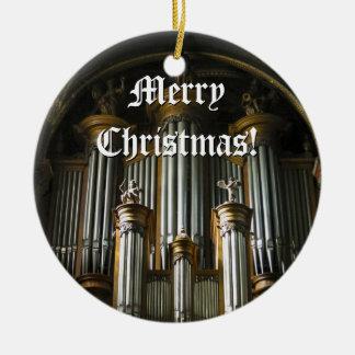 Parisian organ Christmas ornament