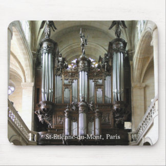 Parisian organ mousepad