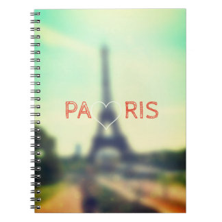 Parisian Photo Notebook with Eiffel Tower