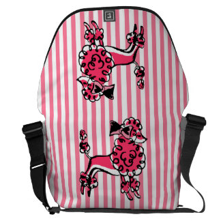 Parisian Poodle Commuter Bag