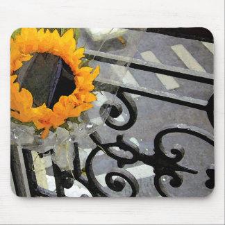 Parisian Sunflower Mousepad