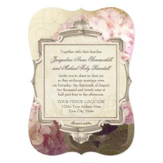 Parisian Vintage Hydrangea Manor House Formal Card