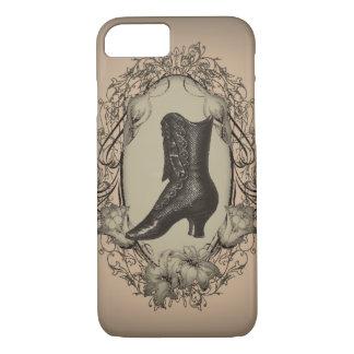Parisian Vintage Victorian shoe steampunk iPhone 8/7 Case