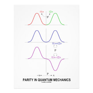Parity In Quantum Mechanics Custom Flyer