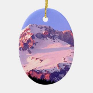 Park Alpenglow On Theof Hood Oregon Ornament