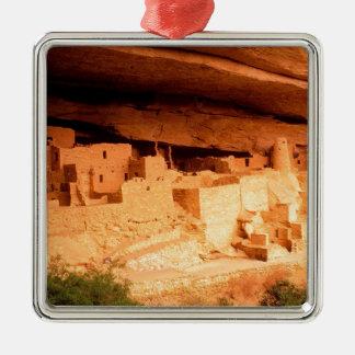 Park Anasazi Ruins Mesa Verde Colorado Metal Ornament