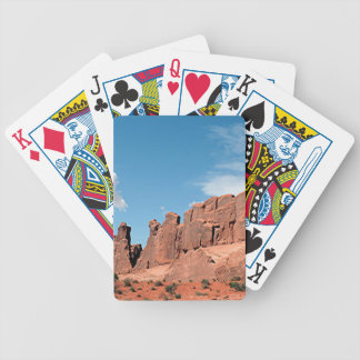 Park Avenue, Arches National Park, Utah Bicycle Playing Cards
