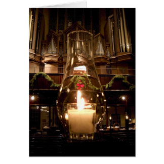 Park Avenue Christian Church at Christmas Card