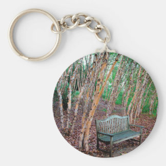 Park Bench 1 Key Ring