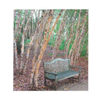 Park Bench 1 Notepad