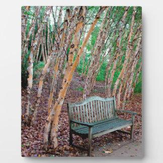 Park Bench 1 Plaque