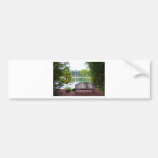 Park Bench 2 Bumper Sticker