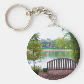 Park Bench 2 Key Ring