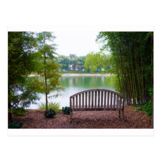 Park Bench 2 Postcard