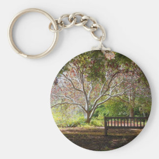 Park bench key ring