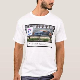 Park Bench Surrealist T-Shirt