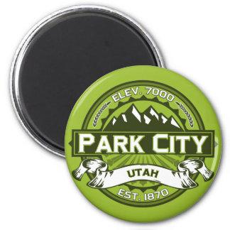 Park City Color Logo Magnet Fridge Magnet