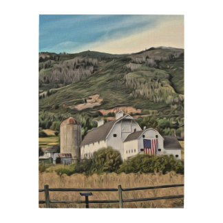 Park City Historic Barn by Leslie Harlow Wood Wall Decor