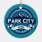 Park City Ice Ceramic Ornament