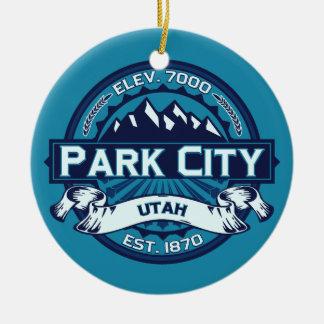 Park City Ice Ceramic Ornament