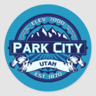 Park City Ice Stickers