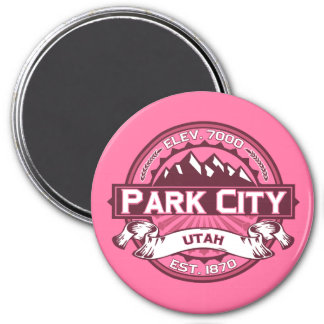 Park City Logo Honeysuckle Magnet