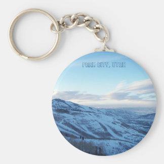 Park City, Utah keychain