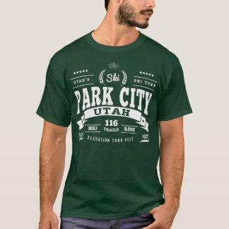 Park City Vintage White T-Shirt