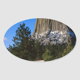 Park Devils Tower Monument Wyoming Sticker