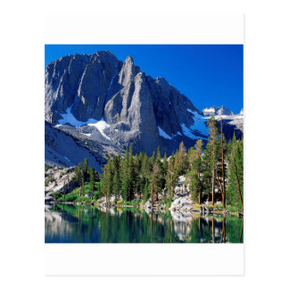 Park First Lake Sierra Nevada Postcard