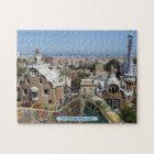 Park Güell, Barcelona, Spain Jigsaw Puzzle