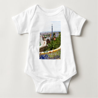 Park Guell in Barcelona, Spain Baby Bodysuit