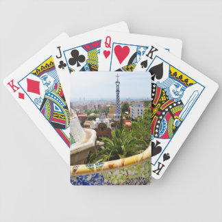 Park Guell in Barcelona, Spain Bicycle Playing Cards
