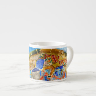 Park Guell in Barcelona Spain Espresso Cup