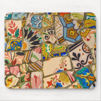 Park Guell in Barcelona Spain Mouse Pad