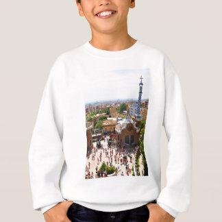 Park Guell in Barcelona, Spain Sweatshirt