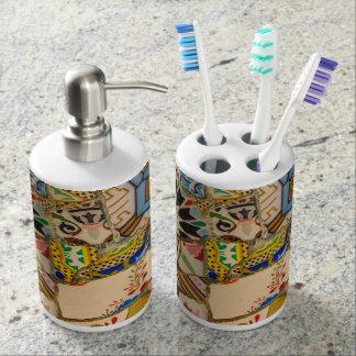 Park Guell in Barcelona Spain Toothbrush Holder